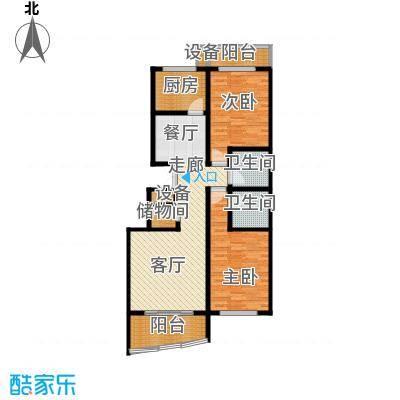 紫荆苑小区98.00㎡面积9800m户型