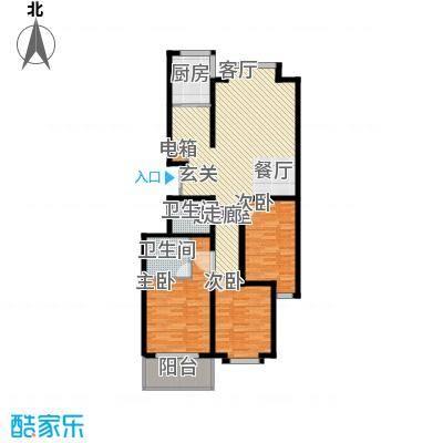 伟东城市精英领域139.39㎡面积13939m户型