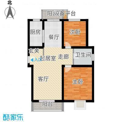 南辛东街宿舍77.00㎡面积7700m户型