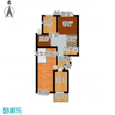 伟东君庭131.00㎡c(二期)面积13100m户型