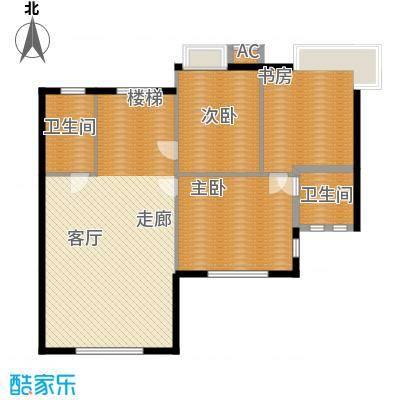 汉水熙园复式2上层户型