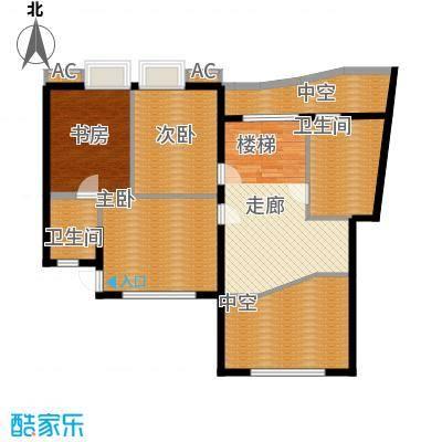 汉水熙园复式3上层户型