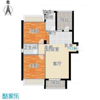 鑫瑞小城故事93.22㎡面积9322m户型
