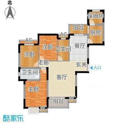 融侨锦城133.60㎡d5-2面积13360m户型