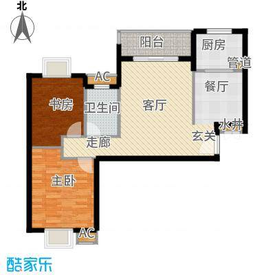 融侨锦城92.11㎡c6面积9211m户型
