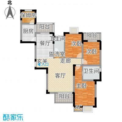 融侨锦城140.03㎡d5-1面积14003m户型