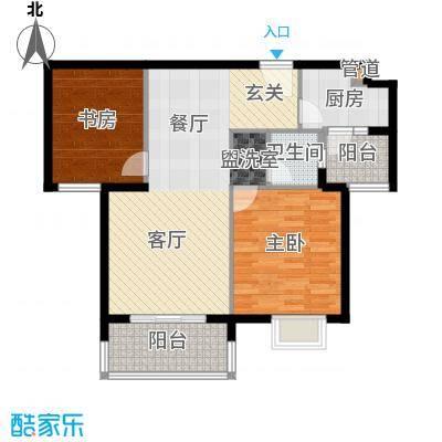 融侨锦城91.72㎡c5面积9172m户型