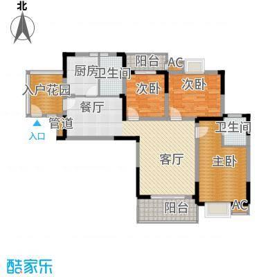 融侨锦城127.71㎡c4面积12771m户型