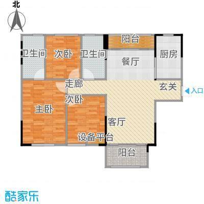 佛奥俊贤雅居98.10㎡12-17号楼面积9810m户型
