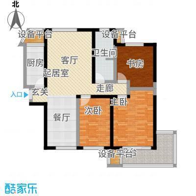 香港映象120.00㎡T10B三期2面积12000m户型