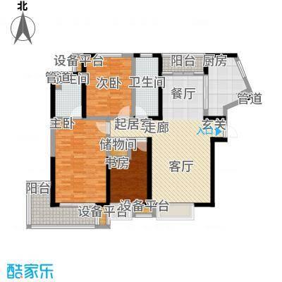 香港映象138.00㎡T10A三期2面积13800m户型