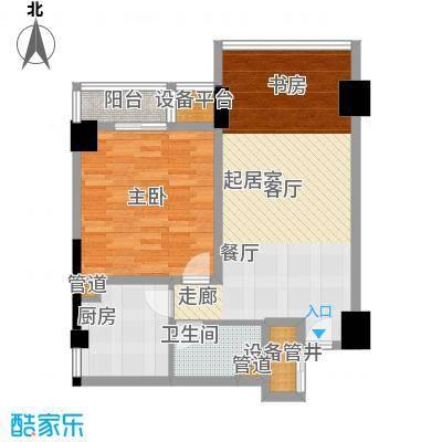 香港映象83.00㎡A/L二期面积8300m户型