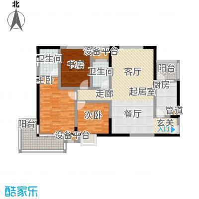 香港映象322一期户型