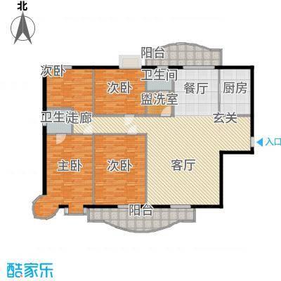 东方江景园181.73㎡面积18173m户型