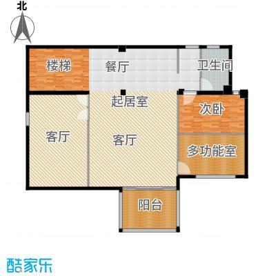 绿地海域观园B夹层户型1室1厅1卫