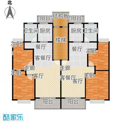 金都花好悦园五期88.00㎡房型: 二房; 面积段: 88 -92 平方米; 户型