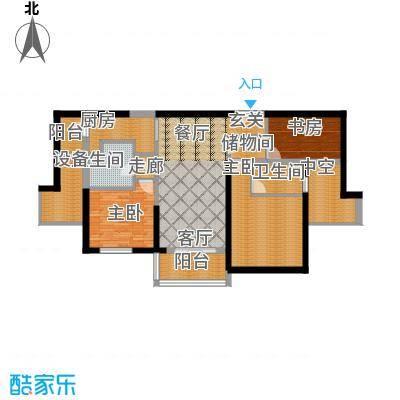 朱美拉公寓A座02单位户型