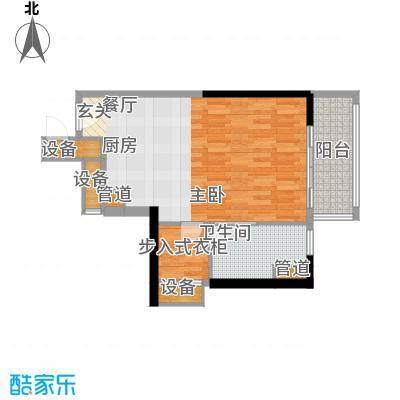 朱美拉公寓54.00㎡D座18-20、22面积5400m户型