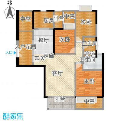 朱美拉公寓B栋01单位户型