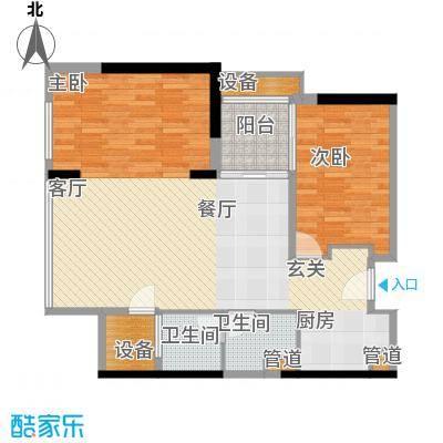 朱美拉公寓86.00㎡D座18-20、22面积8600m户型