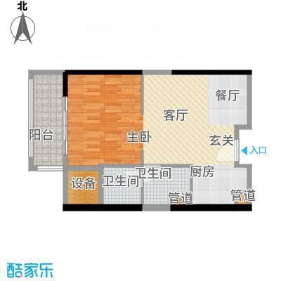 朱美拉公寓60.00㎡D座17、21、2面积6000m户型