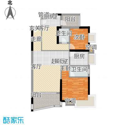 新塘广场A1栋03、04单元户型