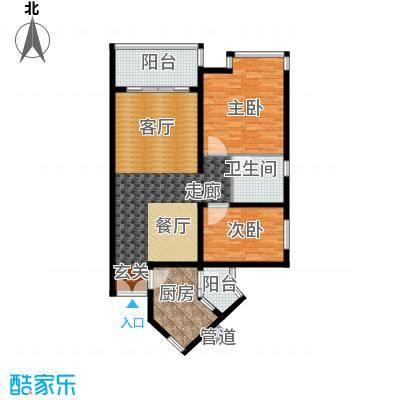 祈福新村活力花园111.24㎡10座07面积11124m户型