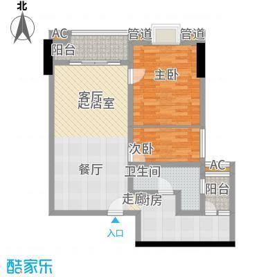 金悦东山国际公馆82.90㎡面积8290m户型