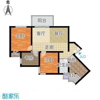 祈福新村活力花园106.91㎡12座03面积10691m户型
