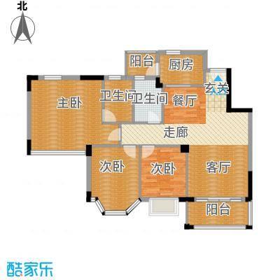 花样年华101.41㎡9座3-9层3单位面积10141m户型