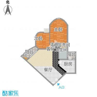 中海锦苑109.00㎡2面积10900m户型