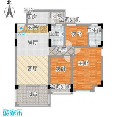 华南碧桂园6米阳光户型