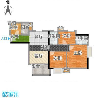 西门口广场92.00㎡八座五至二十面积9200m户型