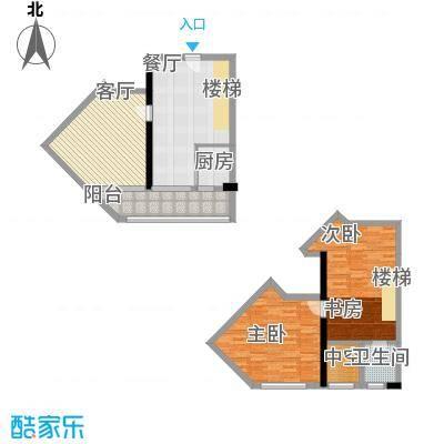 理想青年荟74.76㎡5-21层10、15面积7476m户型