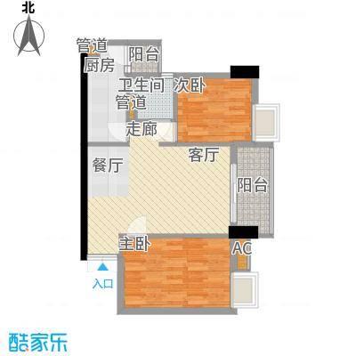 广弘天琪80.51㎡2面积8051m户型