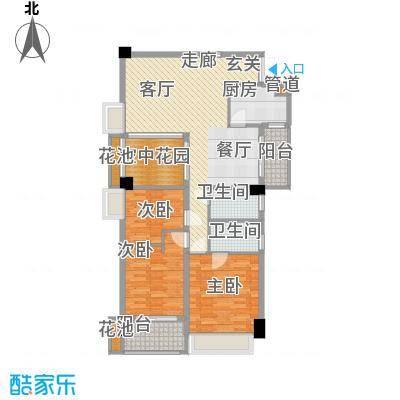 广弘天琪126.11㎡3面积12611m户型