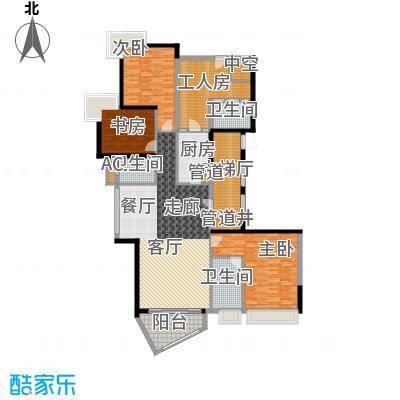 中海观园国际193.32㎡E栋11-37层面积19332m户型