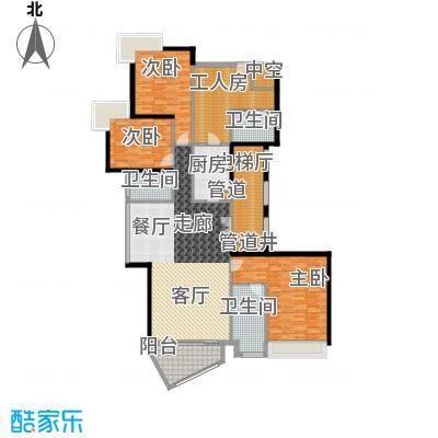 中海观园国际193.32㎡E栋2-9层02面积19332m户型