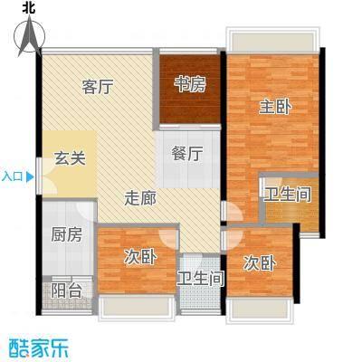 中海蓝湾A四27-32层户型