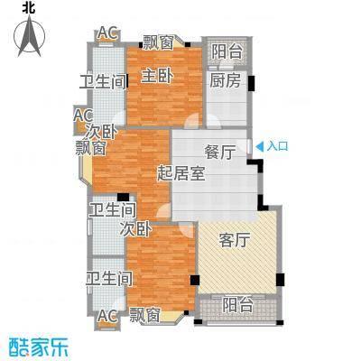 亚太新城130.00㎡E01、E16面积13000m户型