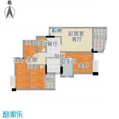 柏涛雅苑131.40㎡面积13140m户型