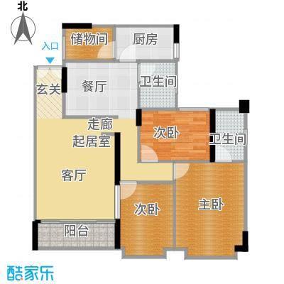 柏涛雅苑111.91㎡面积11191m户型