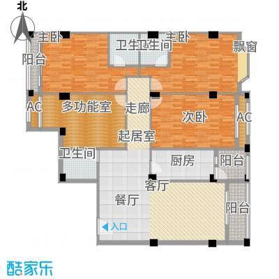 亚太新城167.50㎡F08、F09面积16750m户型