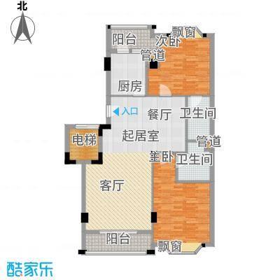 亚太新城108.00㎡E05、E12面积10800m户型