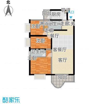 海珠信步闲庭115.47㎡面积11547m户型