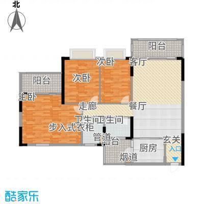 锦绣御景苑148.76㎡4栋03/04单位面积14876m户型