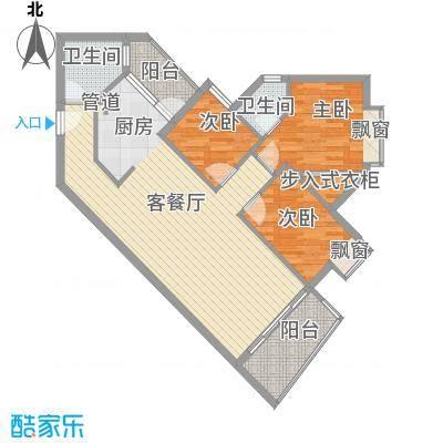 江南苑102.78㎡B栋5-21层01单位面积10278m户型