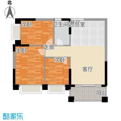 锦绣新天地89.96㎡东景雅筑24座面积8996m户型