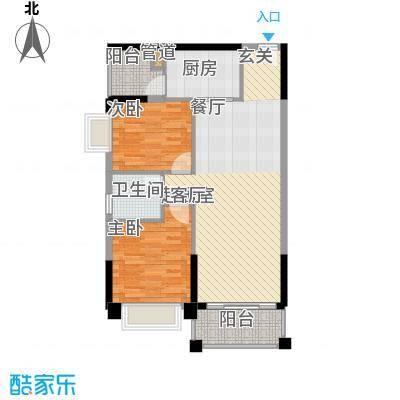 锦绣新天地79.92㎡东景雅筑24座面积7992m户型