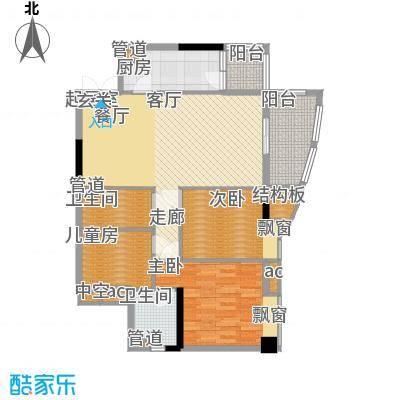 黄埔花园99.24㎡G2栋03单位面积9924m户型